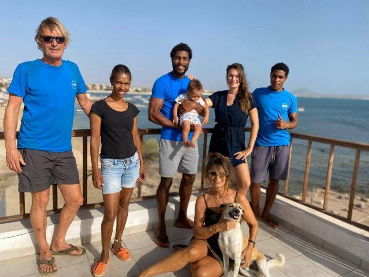The bobbywashere team on Boa Vista